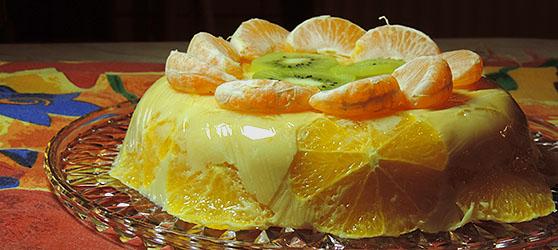 tort de portocale fara blat photo