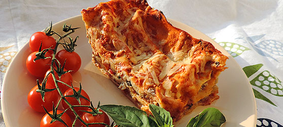 Lasagna cu legume photo