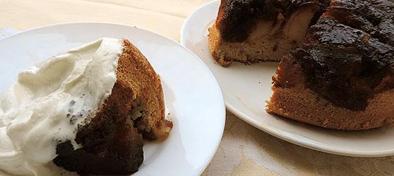 Tarta cu mere caramelizate photo