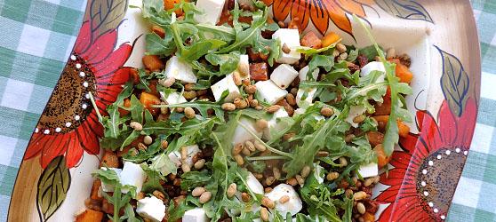 Salata cu dovleac si grau photo