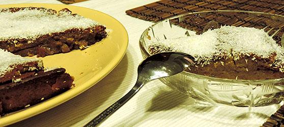 Tarta cu dovleac si cocos photo