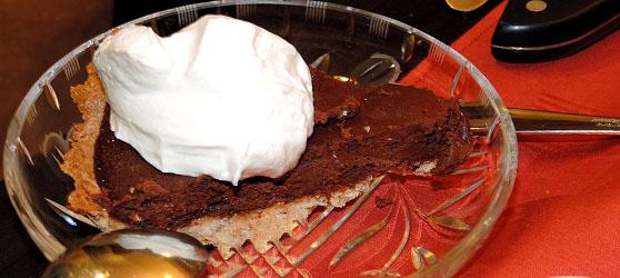 Tarta de ciocolata cu cirese photo