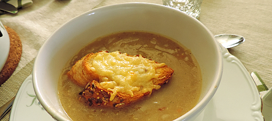 Supa de ceapa photo