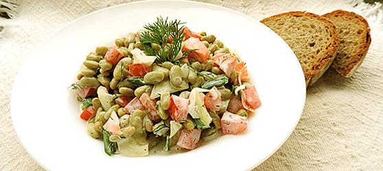 Salata cu bob photo