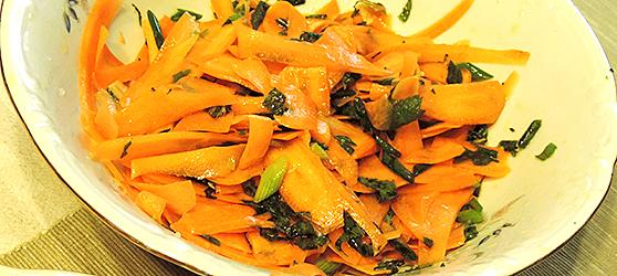 Salata de morcovi cu menta photo