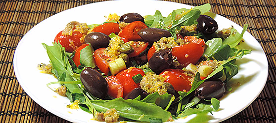 Salata puttanesca photo