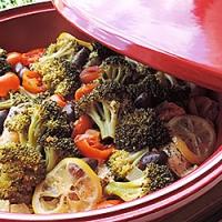 Pui la Tajine cu legume
